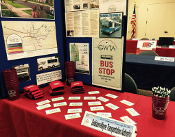 Job Fair GWTA display 2