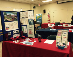 Job Fair GWTA display