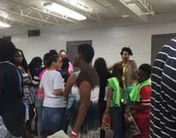 The Community Attends National Night Out